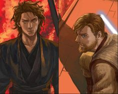"""You became what you swore to destroy"" - Anakin & Obi-Wan"