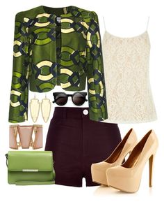 """Unbenannt #508"" by jenn-harp ❤ liked on Polyvore featuring River Island, Oasis, FAIR+true, Kendra Scott, JAY. M, M&Co and Retrò"