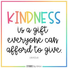 Kindness Books for Kids - Kindness is a gift everyone can afford to give. Here are some of my favorite kindness books for kid - Motivational Quotes For Kids, Inspirational Quotes For Students, Work Quotes, Daily Quotes, Great Quotes, Quotes To Live By, Good Quotes For Kids, Sayings For Kids, Quotes For School