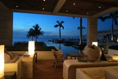 Enjoy the views while relaxing at the Sunset Lounge at Viceroy Anguilla