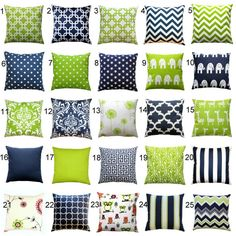 These Throw Pillow Covers Are A Great Addition To Any Living Room Or Kids