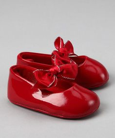 every baby girl needs red shoes..These are too, too sweet...!Angela, Penelope needs these...!