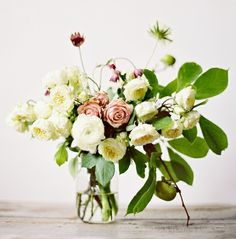 elegant garden wedding reception centerpiece