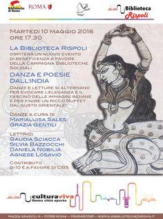 ASSOCIAZIONE CULTURALE ORCHESTÉS │ DANZA CLASSICA INDIANA: BIBLIOTECA RISPOLI DI PALAZZO DORIA - ROMA │ DANZA...