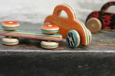 cars made from recycled skateboards