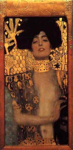 Judith I (und der Kopf des Holofernes) 1901 – Klimpt