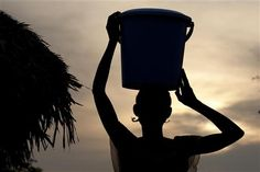 On 6 March 2012, the world met the Millennium Development Goal to half the number of people without access to safe water, in advance of the 2015 deadline. But, disparities loom large, including in Sub-Saharan Africa, home to over 40 per cent of people who still lack access to this vital resource. Marie Bola carries a water bucket, in her village of Mabala. The country's drinking water coverage remains among the lowest worldwide. - DR Congo, 2010 ©UNICEF/Asselin