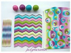 no instructions on creating patterns but good ideas of colour combinations