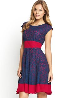 Very - Lace Tie Waist Dress, http://www.very.co.uk/definitions-lace-tie-waist-dress/1404047000.prd