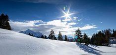 Winterwanderung: Auf dem Tgantieni Höhenweg von Lenzerheide-Sporz nach Valbella Chur, Zermatt, Beautiful Sunset, Mount Everest, Snow, Mountains, Nature, Travel, Outdoor