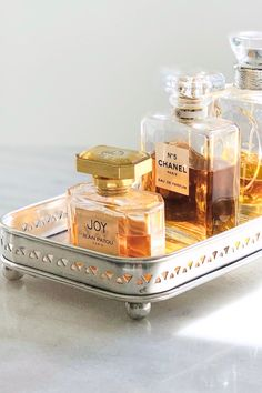 Perfume Tray | Masquerade Perfume Tray, Perfume Bottles, Chanel Paris, Product Information, Masquerade, Silver Plate, Plating, Brass, It Is Finished