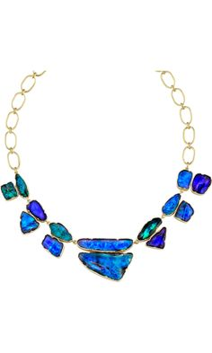 Irene Neuwirth Boulder Opal Necklace. Love the color... only $64,820.00....