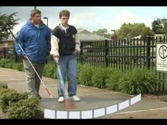 White Cane Techniques - YouTube