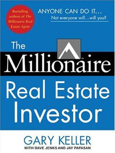 This book by Gary Keller and Jay Papasan is a must read if you are a real estate agent working with investor clients, or someone who wants to do their own investing. #kwri