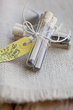 Love this as a gift idea... hostess gift/parting gift... wedding favor