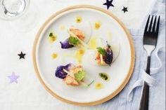 Cours en ligne : Salade de Homard bleu, vinaigrette passion  coriandre