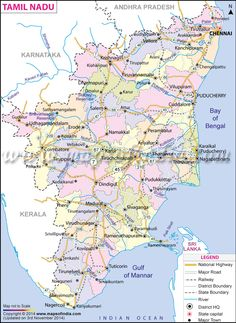 36 best tamilnadu map images on pinterest cards chennai and india map tamil nadu map state district information and facts gumiabroncs Image collections