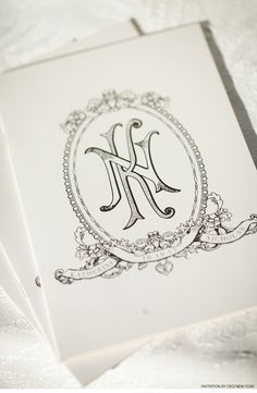 luxury wedding invitations, couture, custom wedding invitations, monogram