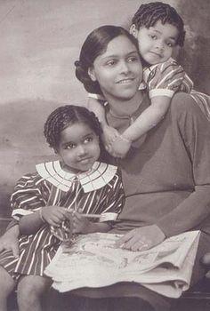 James Van Der Zee  Portrait of Mother and Two Children  1934
