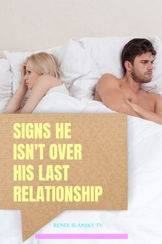 Here are the signs he misses his ex and hasn't moved on from his last relationship. If you are dating a guy and wondering is he still in love with his ex , then you need to watch this video. Breakup Advice, Best Marriage Advice, Happy Marriage, Dating Blog, Online Dating Advice, Relationship Blogs, Happy Relationships, Moving On From Him, Dating Over 40