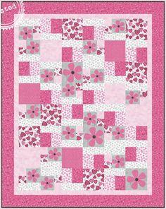 Hug Me Quilt Pattern by Clothworks