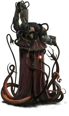 grimdark-and-handsome:  Presenting: Black Crusade by 1mpact Mechadendrite tentacles AND organic tentacles. I am ok with this.