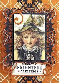 Image result for anna griffin vintage halloween cardmaking kit