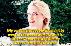 Georgina Haig as Elsa!