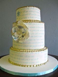 Love Letter Wedding Cakes | Love Wed Bliss