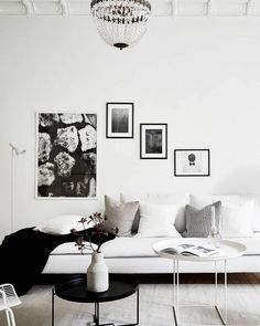White and bright home - via Coco Lapine Design
