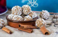 pepparkaksbollar, läckra havrebollar med smak av pepparkaka