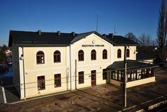 Dworzec w Międzyrzecu Podlaskim