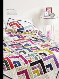 Over the Rainbow by Keera Job - Love Patchwork & Quilting, Issue 31