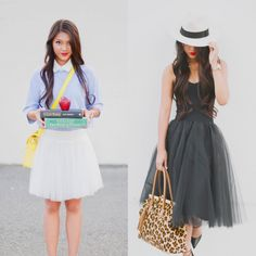 back to school cute tulle outfits