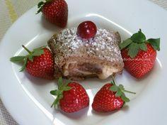 Torta de Chocolate com Iogurte - Fatia / Chocolate Pie with Yogurt - Slice