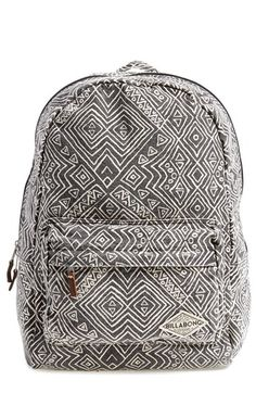 Free shipping and returns on Billabong 'Hand Over Love' Backpack at Nordstrom.com. An unstructured backpack in washed canvas displays a hypnotizing allover print and undeniable laid-back charm.