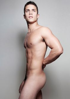 Naked russian male model