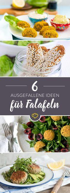 6 raffinierte Falafel-Ideen - Streetfood Deluxe!
