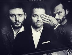 Rogue Mag ·  Teaser sneak peek at our shoot with the wonderful Supernatural boys Jensen Ackles Jared Padalecki Misha Collins for their special feature in Rogue's upcoming Fall Issue 4. Stay tuned for more previews comin soon. Shot by Benjo Arwas