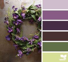 rustic wedding color scheme inspiration #rusticwedding