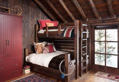 Bunkhouse Renovation in this old log bunky in the Paradise Valley of Montana