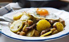 Tiroler Gröstl mag wohl jeder. Das Tiroler Rezept ist nicht nur im Westen, sondern in ganz Österreich durchaus beliebt.