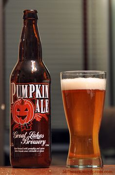Great Lakes Brewery Great Lakes Pumpkin Ale - What?!?  I have never had this one.