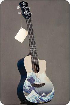 Guitar Wall Art, Ukulele Art, Guitar Tabs Songs, Guitar Painting, Ukulele Chords, Cool Guitar, Music Guitar, Luna Ukulele, Violin