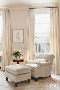 Looking for design ideas and tips? Luxe Interiors + Designs has a huge library of the latest trends in luxurious home designs from across the United States. Home Bedroom, Bedroom Decor, Master Bedroom, Bedrooms, Cozy Reading Corners, Reading Nooks, Book Nooks, Living Spaces, Living Room