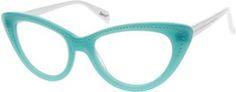 Blue Acetate Full-Rim Frame #6256 | Zenni Optical Eyeglasses