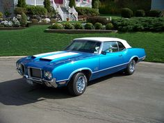 1972 Oldsmobile 442 w29 Convertible | by LKQcorp