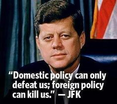 JFK on Policy ‪#‎NoIRANDeal‬ ‪#‎Conservatives‬ ‪#‎TeaParty‬ ‪#‎TedCruz2016‬ ‪#‎PJNET‬