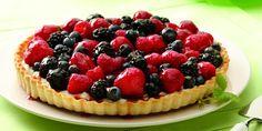 Fresh Mixed Berry Tart Recipe