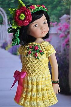 OOAK-OUTFIT-FOR-DOLLS-Little-Darlings-Effner-13. SOLD 4/10/15 for $77.00.